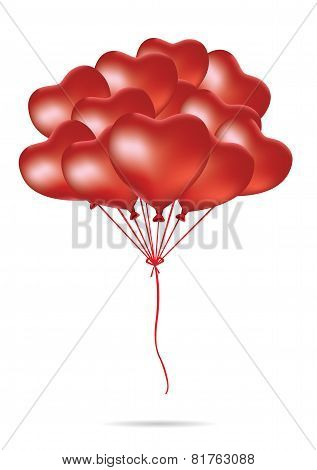 Red Heart Balloon Group