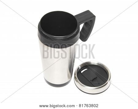 Cup With Heat Protection-thermos Coffee.