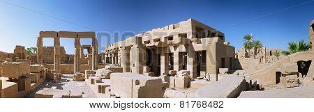 The Karnak Temple , Luxor, Egypt. Panorama
