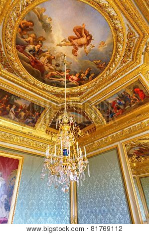 Versailles France - September 21 Interior Chateau Of Versailles, Versailles, France On September 21,