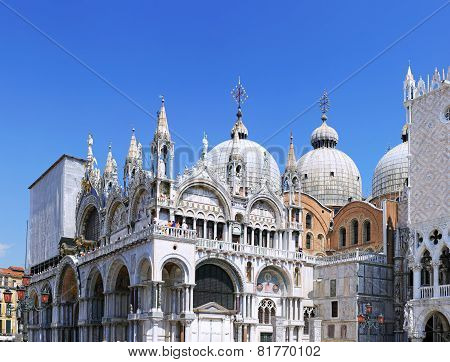 The Doge's Palace ,cathedral Of San Marco, Venice