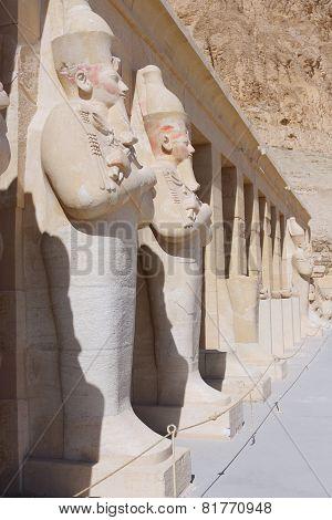 Statue Of Queen Hatshepsut Luxor .egypt