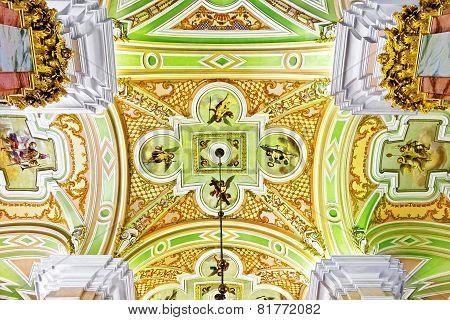 Peter And Paul Fortress. Interior. Saint-petersburg.