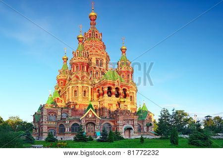 Church Of St. Peter And Paul Church, Peterhof