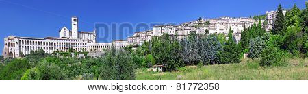 City Cview Of Assisi. Umbria. Italy