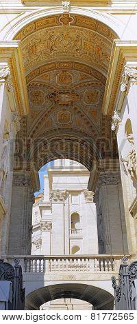 St. Peter's Basilica, Vatican City.