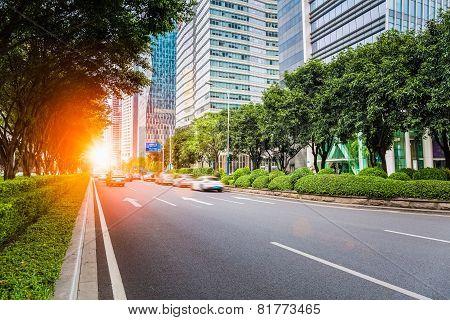 City Road Scene