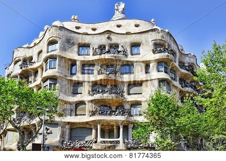 Gaudi's creation-house Casa Mila.