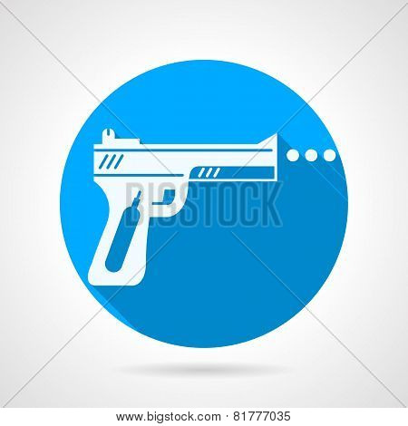 Flat vector icon for airgun