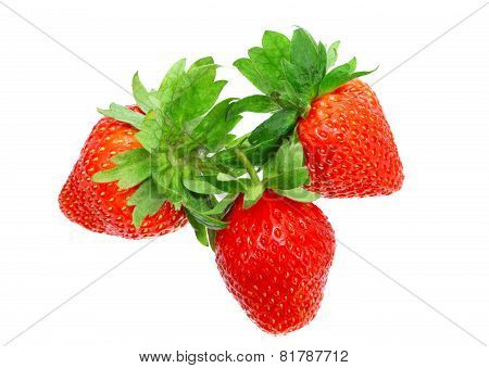 Strawberries .