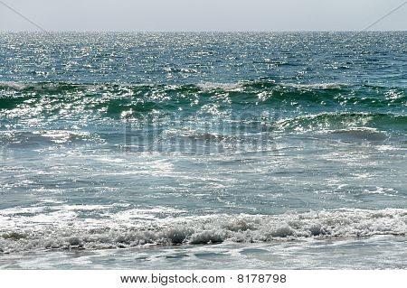 Waves In Puerto Escondido, Mexico