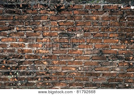 Background Of Brick Wall Texture..