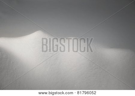 Smooth Untouched Snow