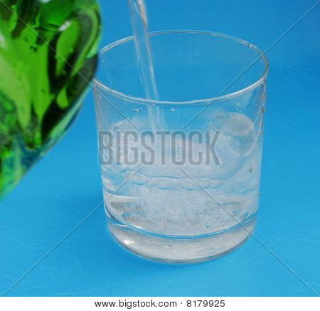 Mineral Water In Glass
