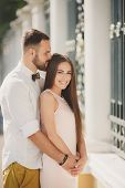 image of hair bow  - A young couple - JPG
