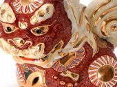 image of nick-nack  - Beautiful detailed Asian dragon ornament - JPG