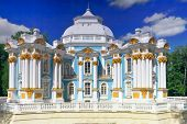 stock photo of tsarskoe  - Pavilion Hermitage in Tsarskoe Selo - JPG