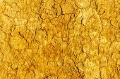 stock photo of drought  - Textured background of dry cracked earth surface - JPG