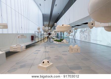 Inside Brazil Pavilion At Expo 2015 In Milan, Italy