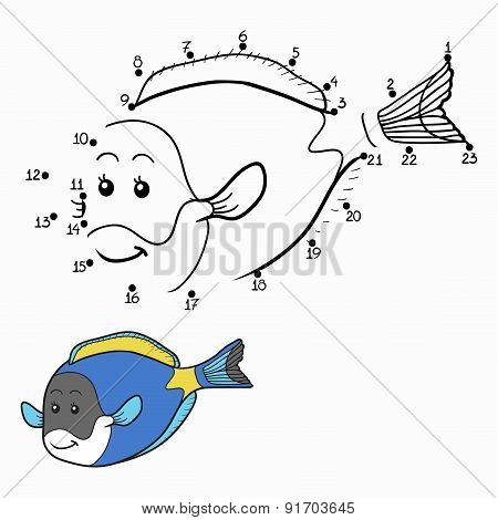 Numbers Game (blue Fish)