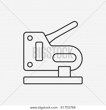 Stapler Line Icon