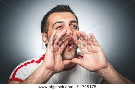 Guy Shouting