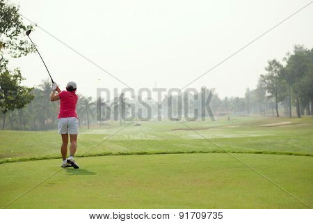 Teeing Off The Ball