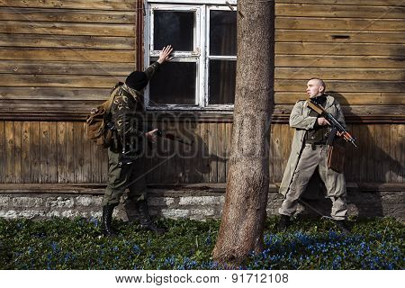 Dangerous Men Are On The Mission Of The House Capture