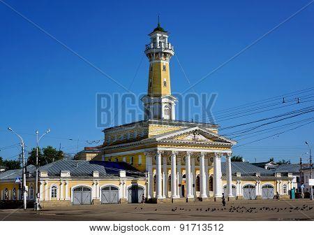 Architecture In Kostroma City , Fire Tower