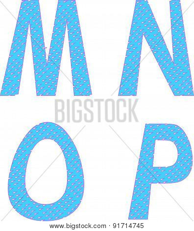 Mnop Letters Symbols Alphabet