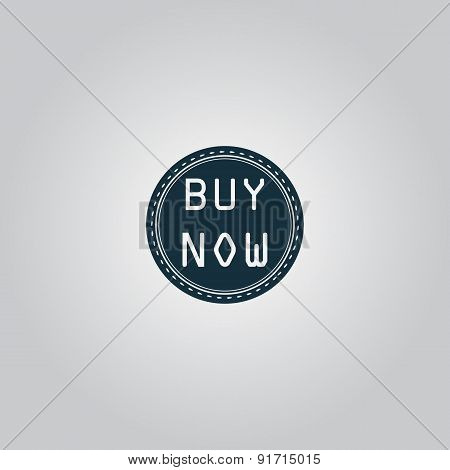 Buy Now Icon, Badge, Label or Sticker