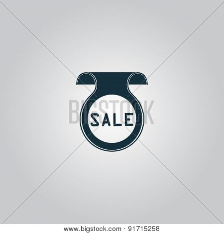 Bookmark with Sale message