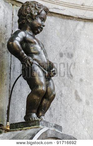 Statue in Brussels, Belgium