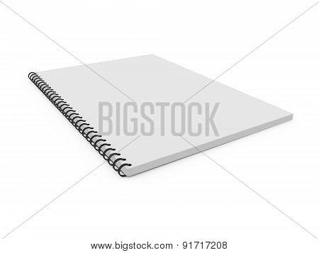Blank Ring Binder