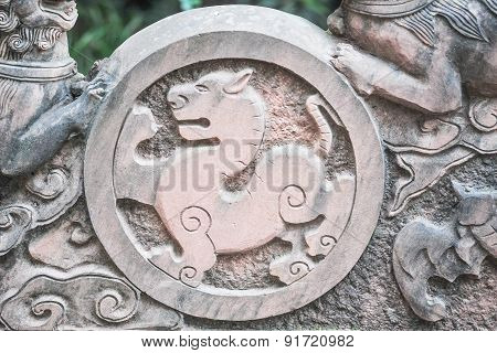 Stone carving in China