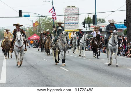 Mexican-american Riders
