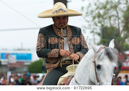 Mexican-american Rider