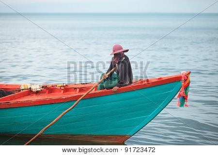 Traditional asian fishing