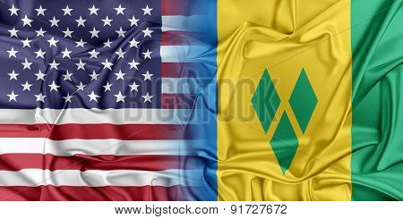 USA and Saint Vincent the Grenadines