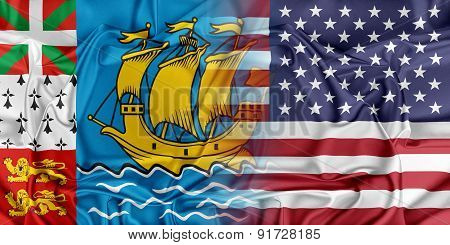 USA and Saint-Pierre Miquelon