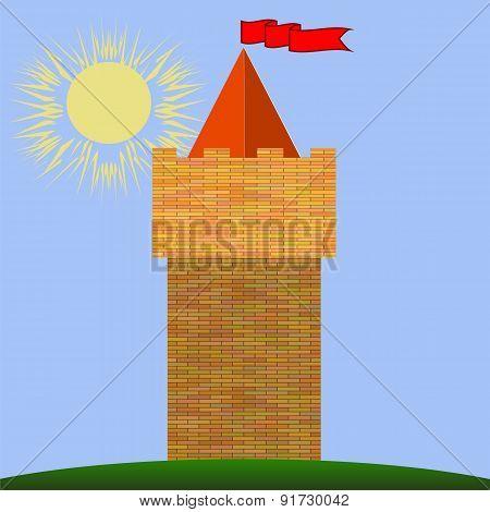 Old Red Brick Castle