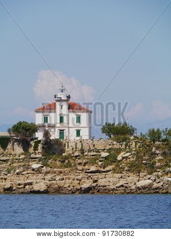 The Plocica lighthouse in Croatia