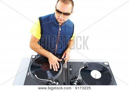 stilvolle deejay