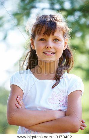 Girl Posing