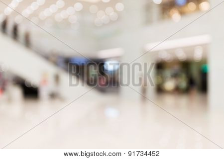 Defocus of Department store for background usage