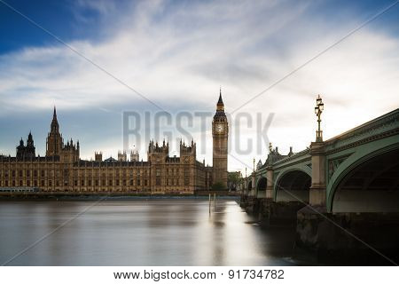 Houses Of Parliament - Long Exposure Version
