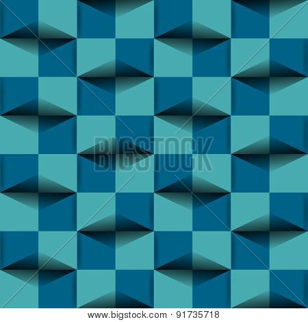 Background 3d effect pattern