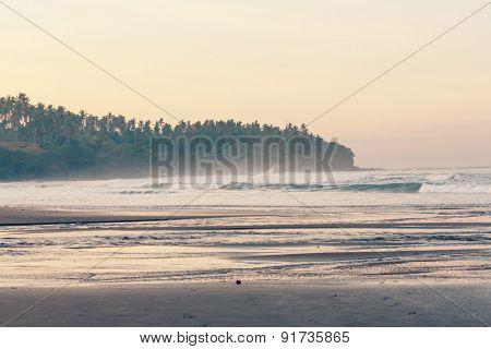 Ocean coast,instagram filter