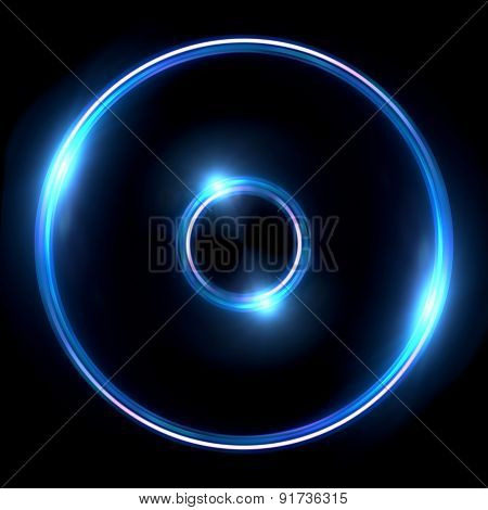 Lens Ring Flares Double Circle