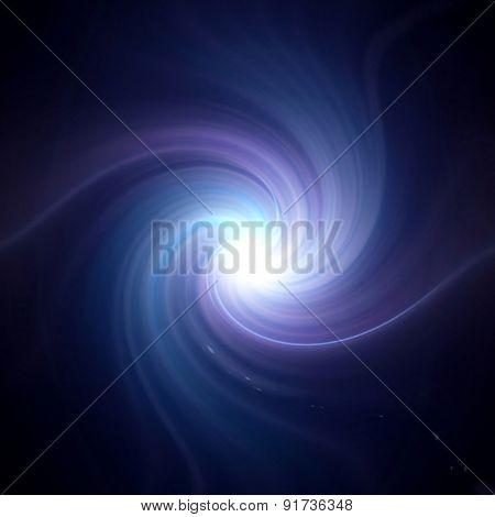 Twirl Purple Lens Flare